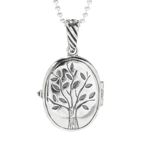 Tree Of Life Jerusalem Nano Bible Chain